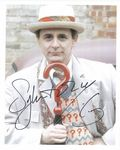 Sylvester McCoy 7th Doctor DOCTOR WHO 10X8 Genuine Autograph 11271